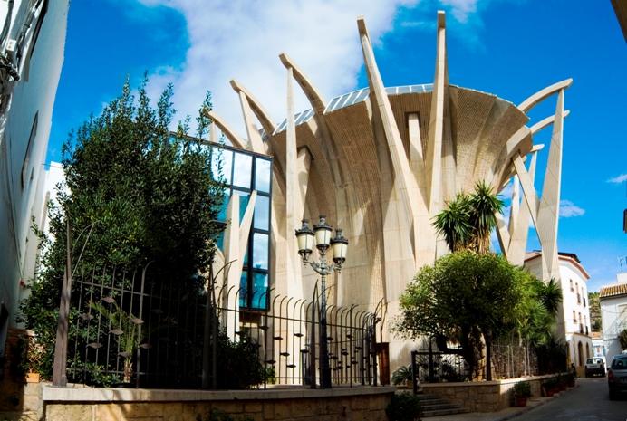 iglesia del loreto javea
