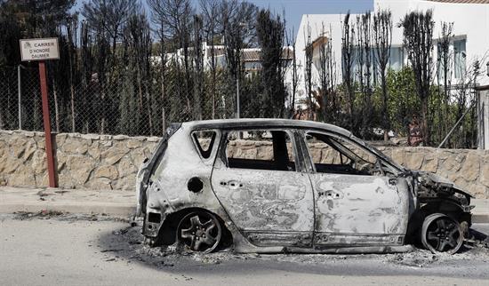 incendio coche javea